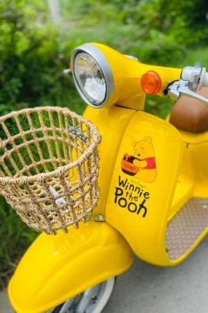 ▲小熊維尼摩托車。(圖/翻攝自facebook@BBPrettyShop)