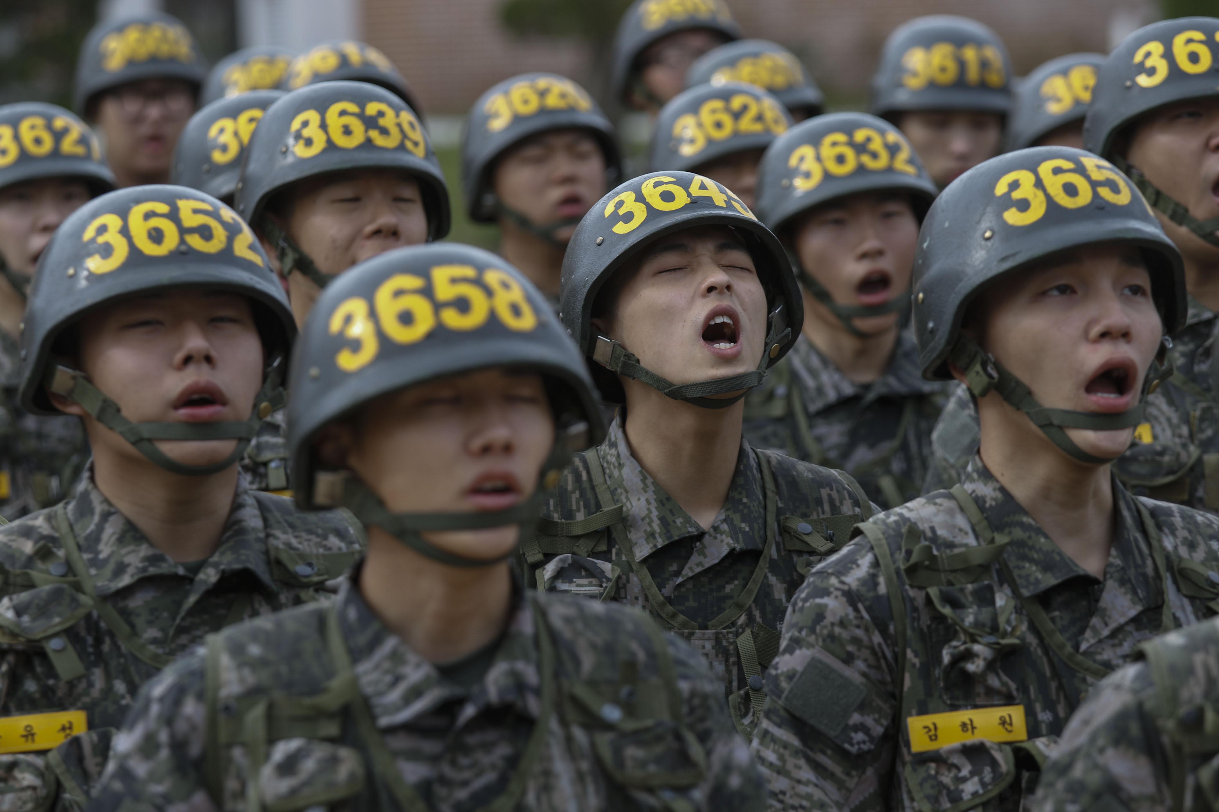 ▲▼南韓海軍陸戰隊。(圖/達志影像)