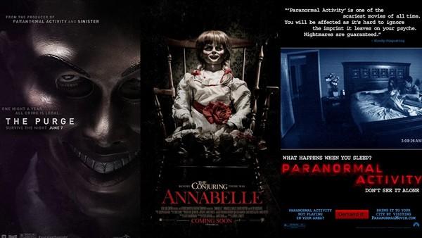 ▲《奪魂鋸》、《靈動:鬼影實錄》和《安娜貝爾》等都是知名全球的恐怖片。(圖/翻攝自IMDb)