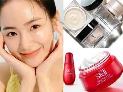最新嫩膚神霜!SK-II升級版大紅瓶、YSL精華寶寶霜一擦亮到發光