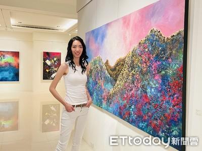 王永慶外孫女楊元寧返台辦個展 不畏疫情暢談「真實自我」