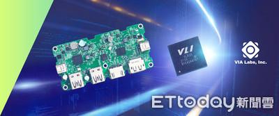 威鋒推首款USB4控制晶片、Q4將供貨 傳輸速率達40Gbps