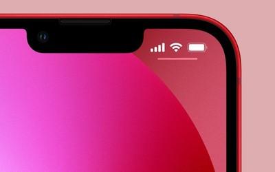 iPhone 13瀏海縮小20% 狀態欄仍不顯示「電量百分比」