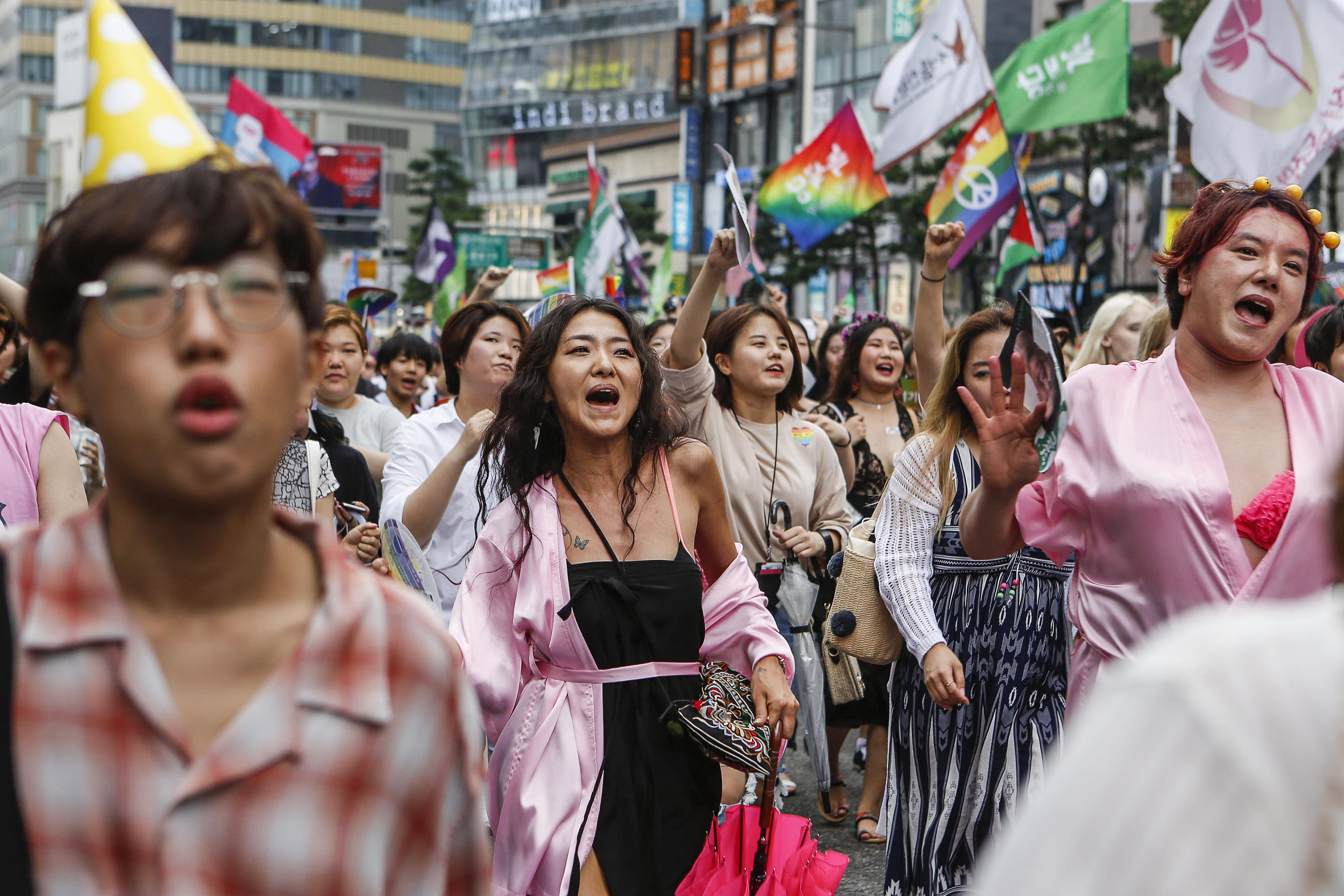 ▲▼南韓同性戀者、跨性別等性少數族群經常遭受歧視、霸凌。(圖/達志影像)