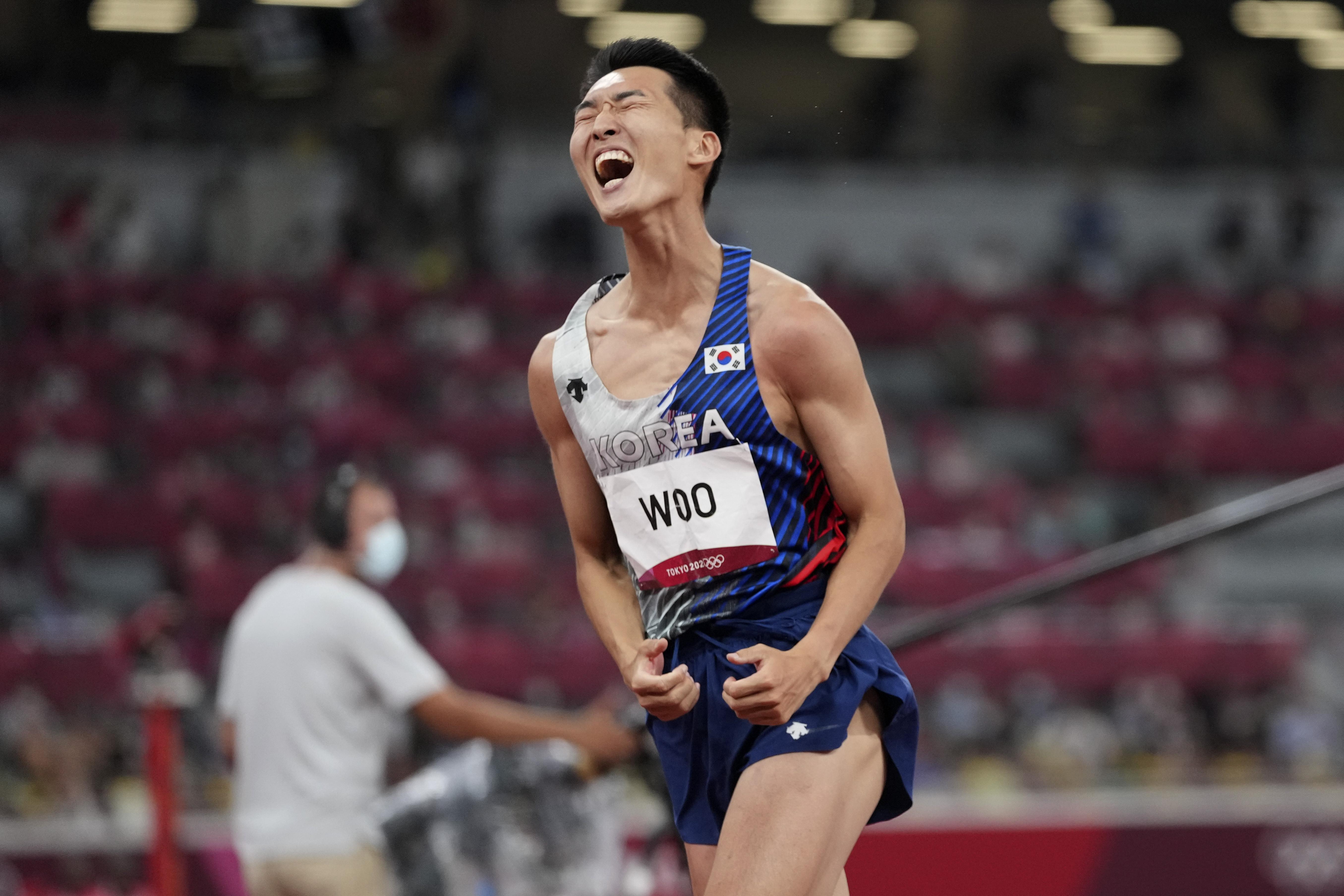 ▲▼禹相赫東京奧運跳高奪下第4名,以2.35公尺刷新南韓紀錄。(圖/達志影像/美聯社)