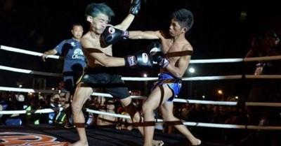 泰國暴徒新年搗亂 罰:和拳皇打一場