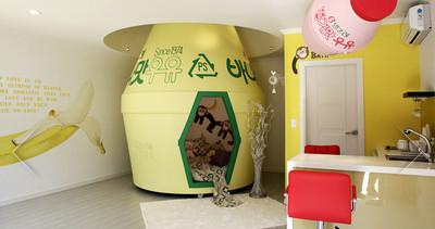 盤點南韓主題民宿,人家要睡香蕉牛奶