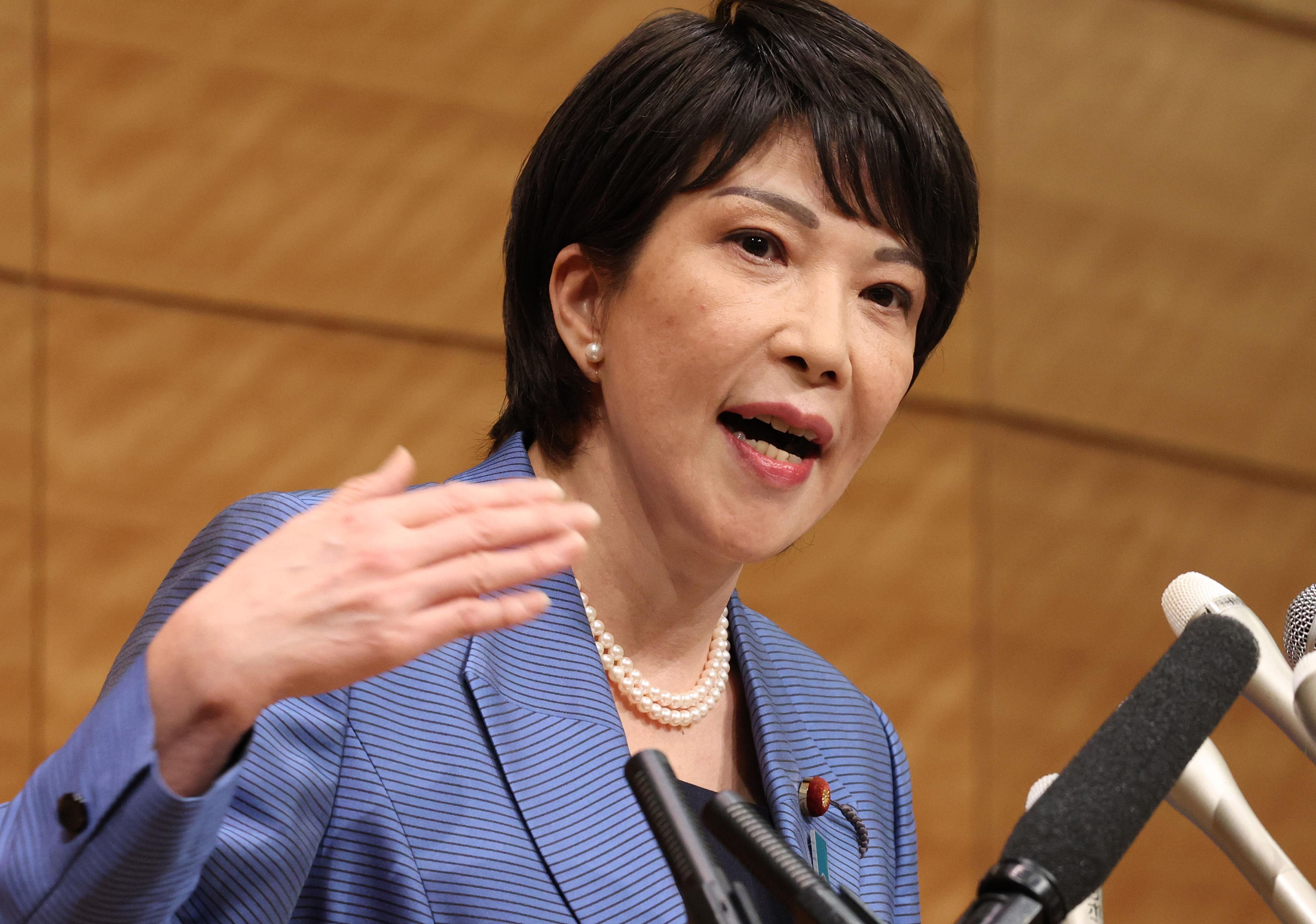 ▲▼日本自民黨總裁候選人高市早苗。(圖/達志影像)
