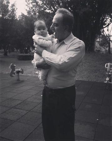 ▲蕾菈爸爸病逝。(圖/翻攝自Instagram/蕾菈 Lyla)