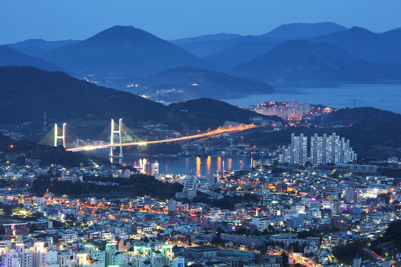 ▲▼南韓全羅南道麗水市。(圖/CFP)