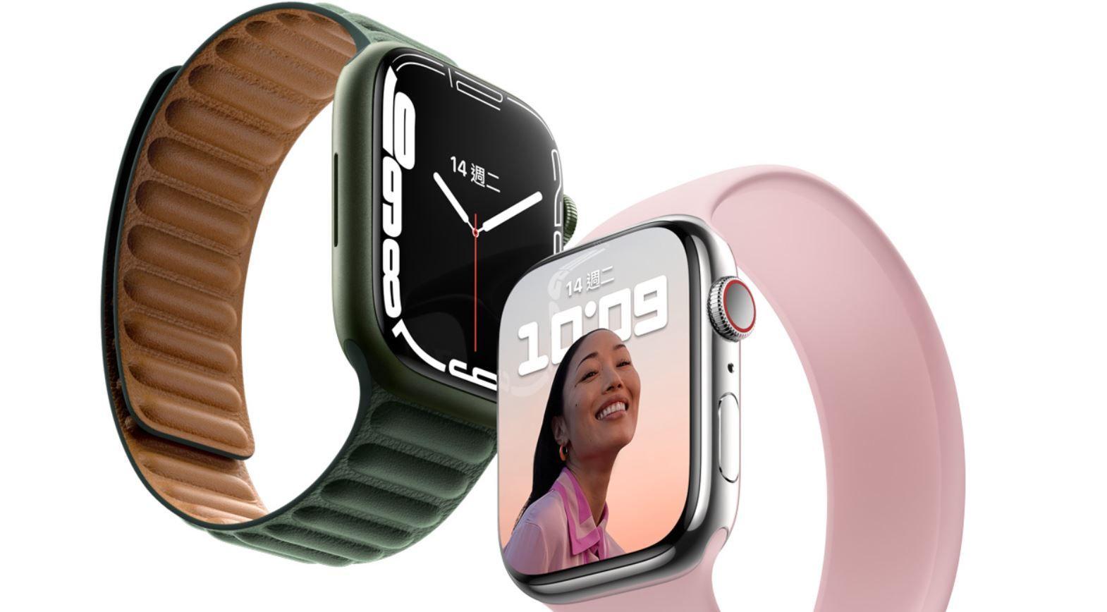 ▲▼蘋果推出Apple Watch Series 7預購        。(圖/翻攝蘋果官網)