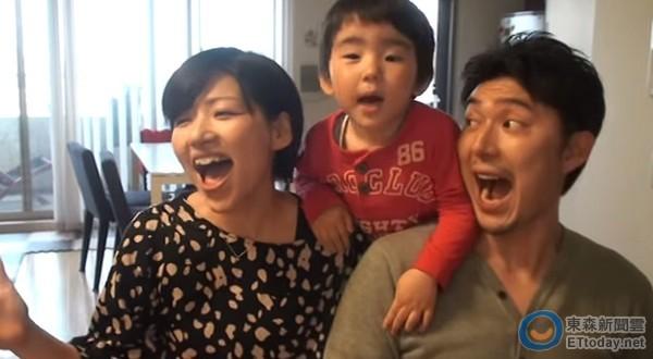 日本夫婦嗨飆《冰雪》神曲 超萌兒子神對嘴搶鏡!