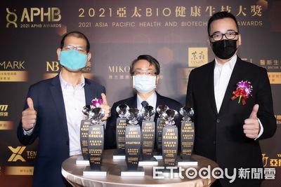 王令麟領軍橫掃8項亞太BIO生技大獎 東森自然美成最大贏家