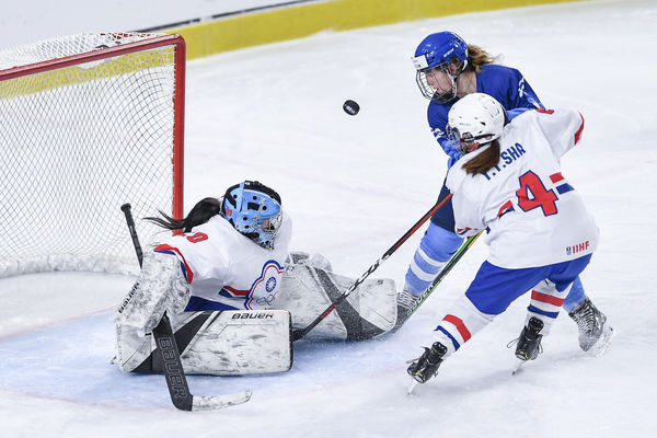 中華女子冰球隊最終戰不敵西班牙 資格賽3連敗無緣冬奧