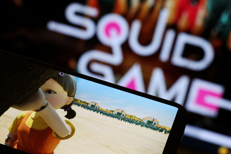 ▲▼《魷魚遊戲》掀起全球學習韓語的熱潮。(圖/路透社)