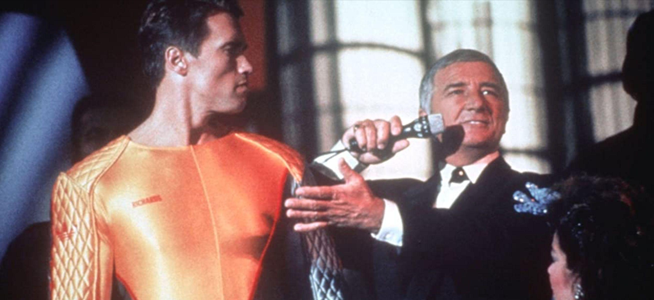 Arnold Schwarzenegger,魷魚遊戲,網飛,魔鬼阿諾,大逃殺,小津安二郎,史蒂芬金,媒體,Richard Dawson,階級,社會議題