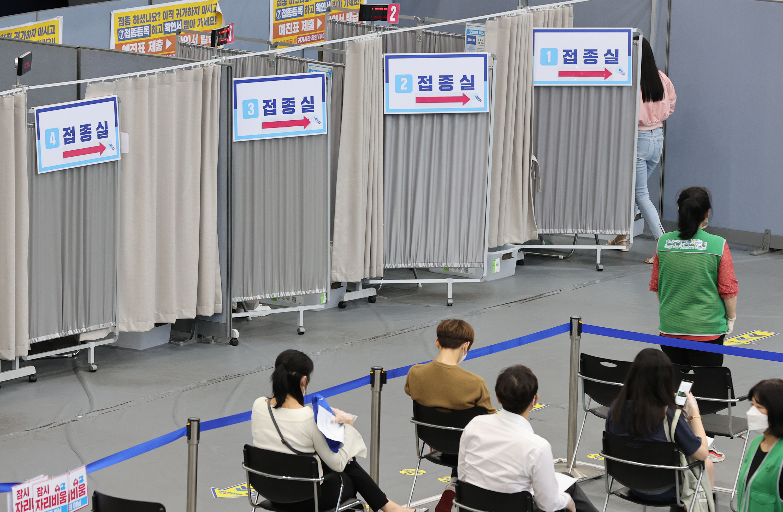 ▲▼南韓正設法提升國內2劑疫苗接種覆蓋率至70%,力拼11月初分階段解封。(圖/達志影像)