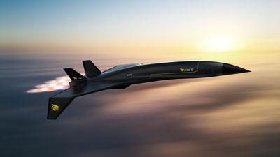 每小時3,000英哩!「極音速客機」從紐約飛倫敦僅90分鐘