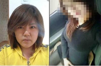 120→60公斤...美眉的臉蛋變化太驚人