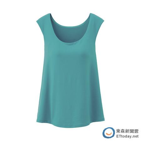 UNIQLO的BRATOP罩杯式上衣新上市,從即日起推出期間限定優惠75折。