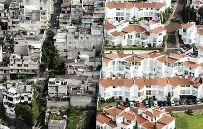 這不是PS照,這在墨西哥叫作貧富差距