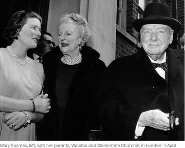 邱吉爾么女辭世 享壽91歲