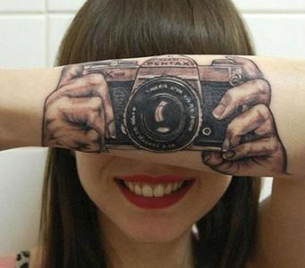 刺青不是耍個性,只想把歡笑帶給你~