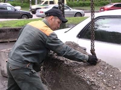 哭著求饒吧!俄國人這樣對付違規停車