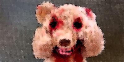 最近超火的殭屍泰迪熊,覺得要嚇尿了