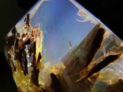 純天然!一顆蛋白石讓你看盡海底美景