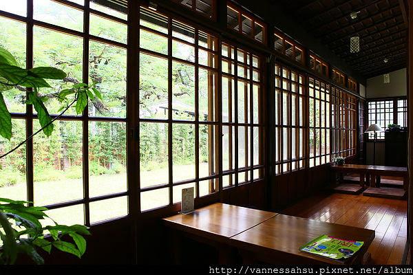 宜蘭文學館仍保有舊日式建築氛圍 恬靜氛圍如世外桃源