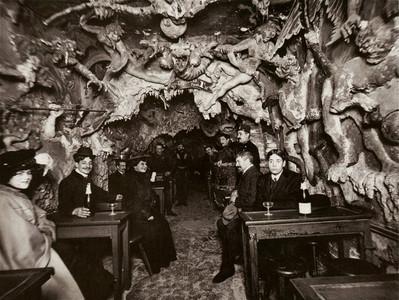 19世紀的法國夜總會,根本地獄入口..