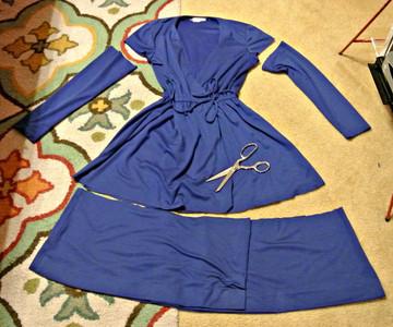 只要有心,二手舊衣也能變超潮洋裝