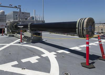 美軍試驗電磁炮 炮彈時速達7400公里