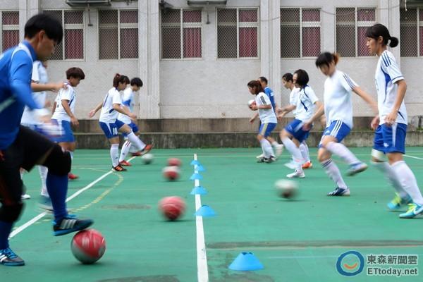 ▲女子五人制在台灣需要培養(圖/記者張克銘攝)