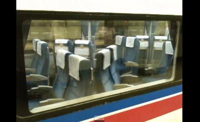 抵達終點後,日本列車上的驚人景象…