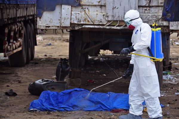 賴比瑞亞,伊波拉,病毒,屍體,救護車