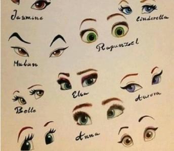 只給你看眼睛…迪士尼公主猜一猜?
