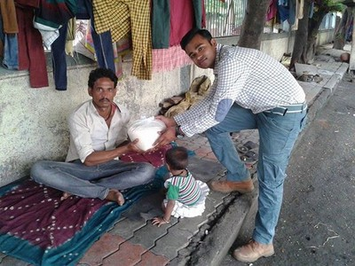 冰桶掰掰!印度「米桶挑戰」激發愛心