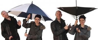 會逆向思考的傘,關傘不再被淋溼