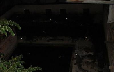 柬埔寨酒店的夜間風景,媽阿能換房嗎
