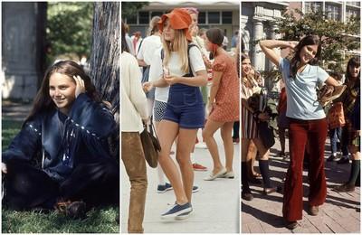45年前的校園時尚,就是自己說了算!