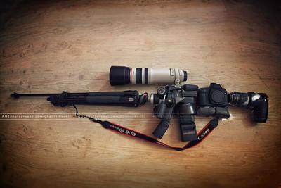 資訊就是彈藥!記者將相機改造成步槍