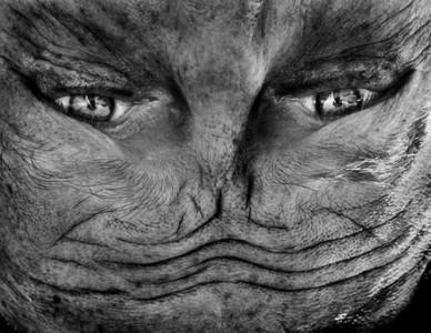 人臉翻轉180度後…我們都是外星異種