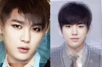 把男idol成員臉疊一起…哪團最優呢?