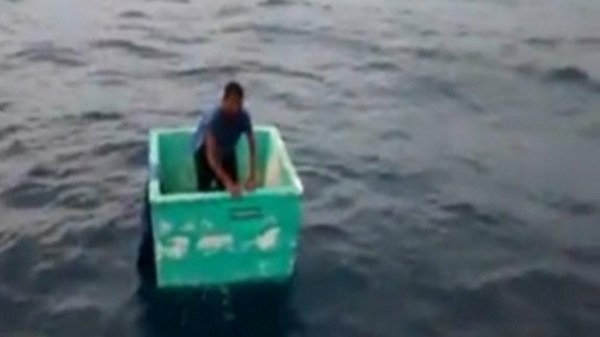 墨西哥,船難,漁夫,漂流