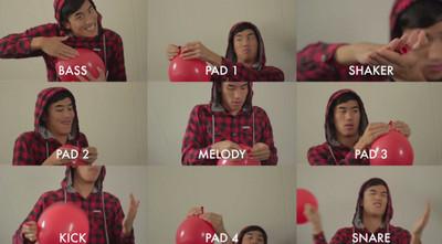 1顆氣球能混8種音效!其他DJ臉都綠了
