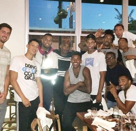 NBA/林書豪、Kobe合體聚餐 湖人新賽季備戰倒數計時
