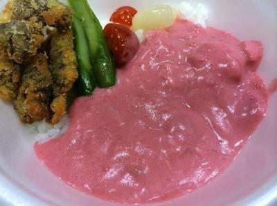 日本貴婦御用咖哩,根本是草莓優格吧