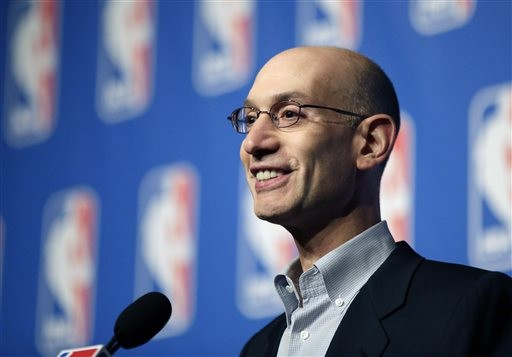 NBA總裁席爾瓦(圖/達志影像/美聯社)